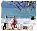 Luxury beach vacation