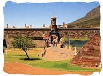 Main entrance to the Castle of Good Hope built by the Dutch East India Company from 1666 to 1679