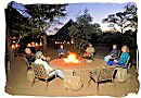 Around the campfire in the Kruger National Park