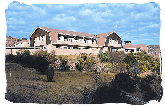 The Brandwag Hotel in the Golden Gate Highlands National Park
