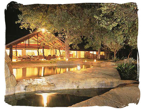 Chapungu Lodge in the Thornybush private game reserve, adjacent to the Kruger national Park