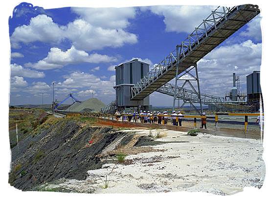 Diamond mining at Cullinan near Pretoria