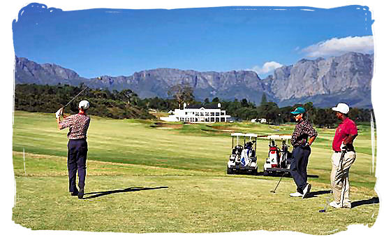 Erinvale golf course in Somerset West in the Cape province - South Africa Tours, Best Safari Tours of South Africa
