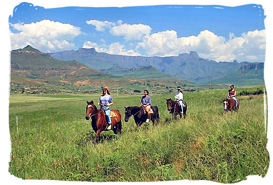 Horse-riding in KwaZulu-Natal - South Africa Tours, Best Safari Tours of South Africa