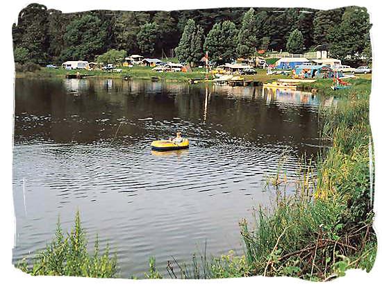 Lakeside caravan park in Magoebaskloof, Limpopo province