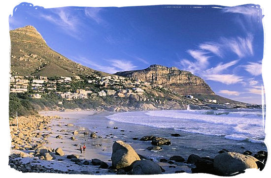 The picturesque Llandudno beach, one of the Cape's beautiful beaches and a favourite for sundowners - Activity Attractions in Cape Town South Africa and the Cape Peninsula