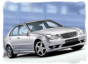 Mercedes Benz 180C - South Africa rental car.