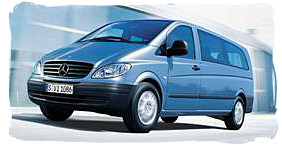 Mercedes Vito - South Africa rental car.