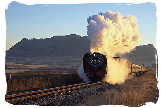 Steam train safaris in South Africa