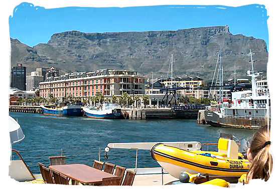 Thr Waterfront in Cape Town - Travel in South Africa, South Africa travel information