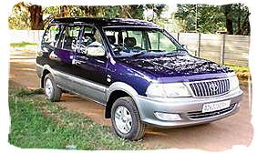 Toyota Condor - South Africa rental car.