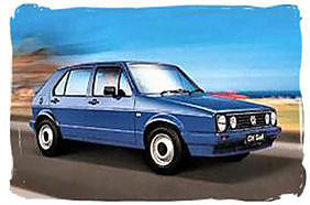 volkswagen Golf Chico - South Africa rental car.
