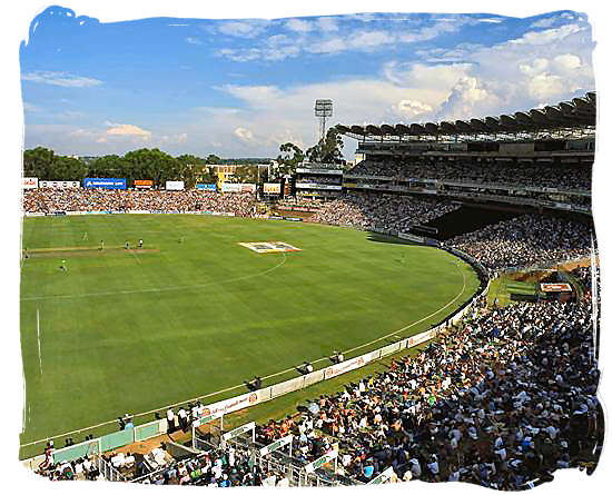 The Wanderers Cricket ground in Johannesburg