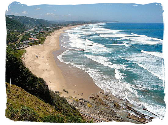 George South Africa  City new picture : ocean meet wilderness beach near george geography of south africa