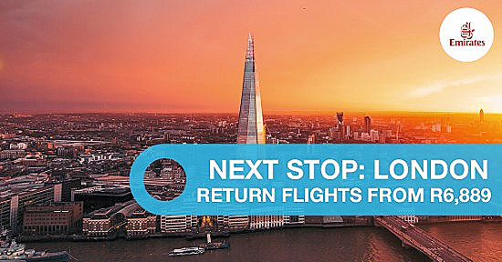 Special offer flights to London