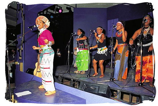 Singing a Capella - South African Music, a Fusion of South Africa Music Cultures