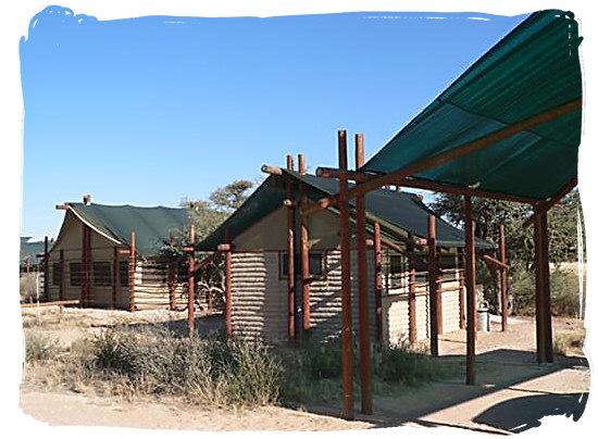Accommodation at the camp - Grootkolk Wilderness Camp, Kgalagadi Transfrontier Park
