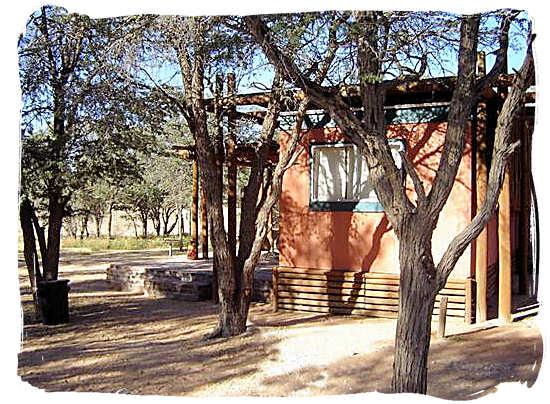Accommodation at the Mata Mata camp - Mata Mata Border Camp, Kgalagadi Transfrontier National Park