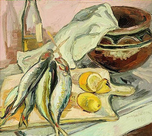 Still Life with African pot by Irma Stern (1894-1966) - South African Art, Art Galleries in South Africa, South African Artists