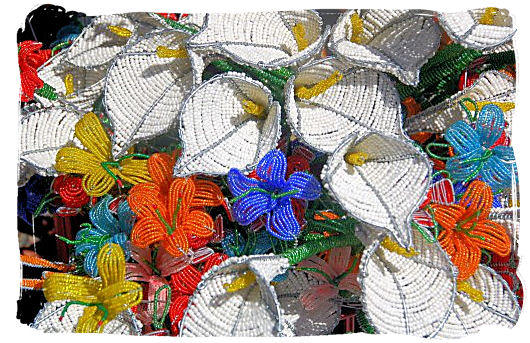 African art with wire and beads - Festivals of South Africa