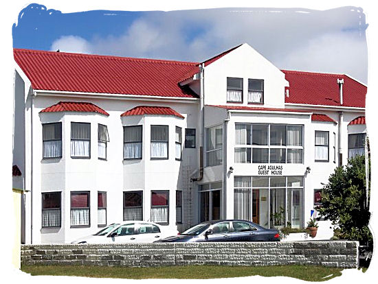 Cape Agulhas guest house at the southern tip of the African continent
