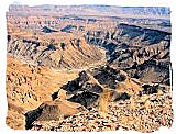 Fish River Canyon in the Ai-Ais/Richtersveld National Park
