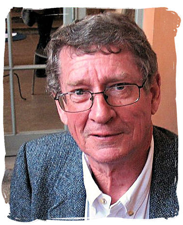 Andre Brink, whose novels became the first Afrikaans works to be banned by the apartheid government - Literature in South Africa