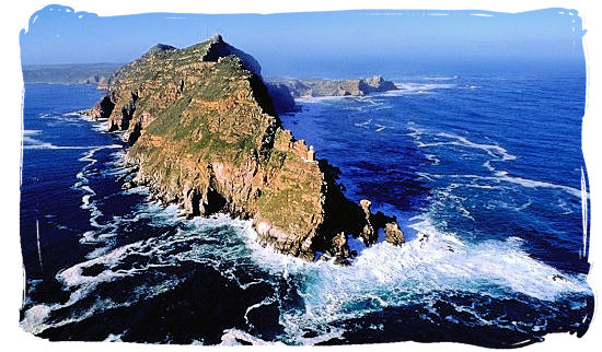 Aerial view of the Cape Point promontory - Discover Cape Point South Africa and the Cape of Good Hope