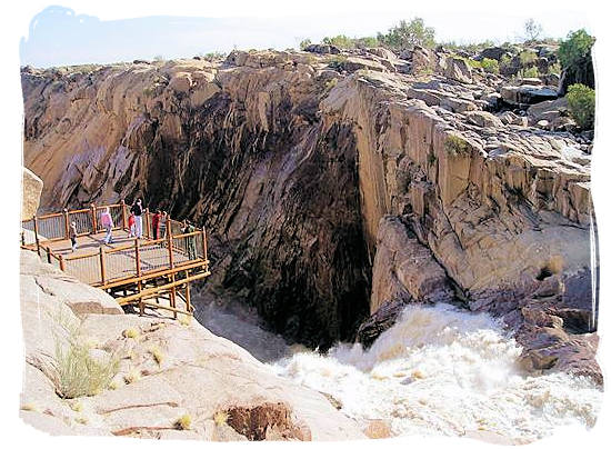 The Augrabies Falls National Park, Augrabies Resorts, South Africa - Viewing platform at the Augrabies Falls