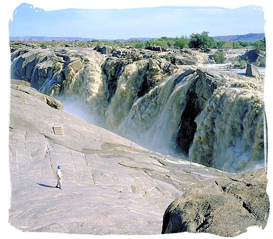 The Augrabies Falls, second largest in Africa after the Victoria falls