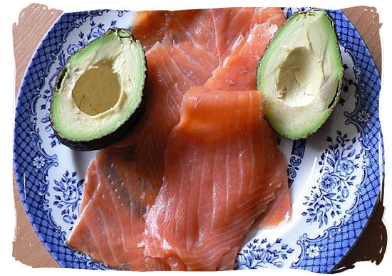 Avocado pear and smoked salmon - South African food adventure, South Africa food safari