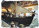 A replica of the ship of seafarer Bartolomeu Dias
