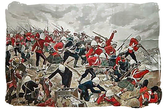 The Battle of Majuba hill - Anglo Boer War in South Africa