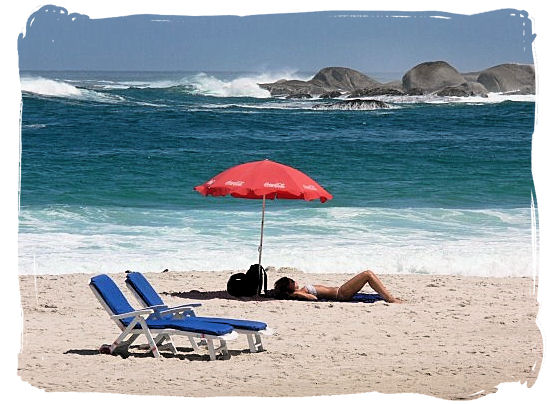Getting your fill of the sun, enjoying stunning scenery, sipping cocktails on a Cape Town beach - Beaches of Cape Town South Africa, Best South African Beaches