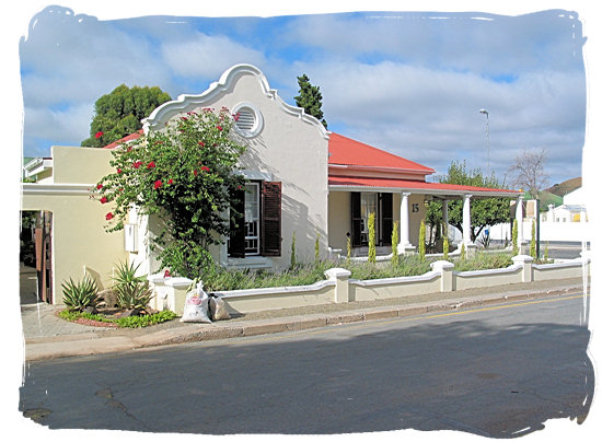 Historical Cape-Dutch style house in the town of Beaufort West