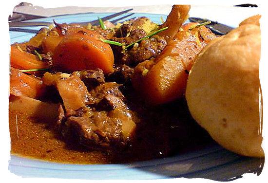 Beef-Bredie - South African food adventure, South Africa food safari