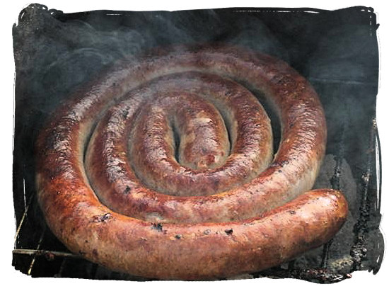 Boerewors (farmers sausage), everyone's favourite a must at every South African braai - South African barbecue tips and ideas