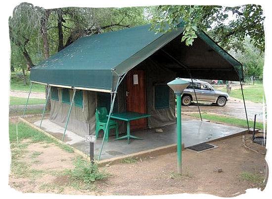 Budget type Safari tent - Skukuza Safari, Travel and Accommodation
