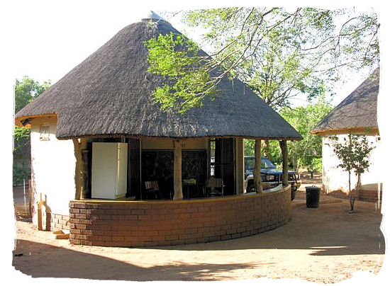 Bungalow at Satara camp - Kruger National Park accommodation