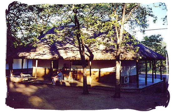One of the older bungalows at the rest camp - Shingwedzi Rest Camp, Kruger National Park, South Africa