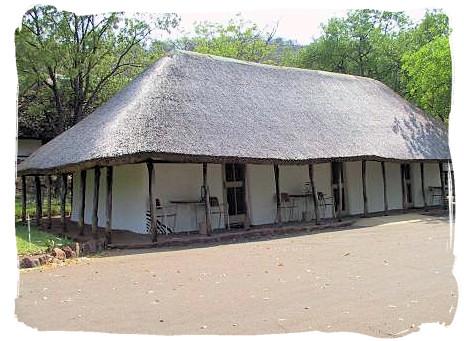 Bungalows at Punda Maria rest camp