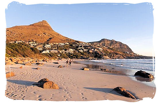 The highly popular Camps Bay beach near Cape Town - Beaches of Cape Town South Africa, Best South African Beaches