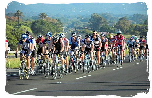 South Africa's Cape Argus Pick 'n Pay Cycle Tour in the Western Cape Province - South Africa Sports Top Ten South African Sports