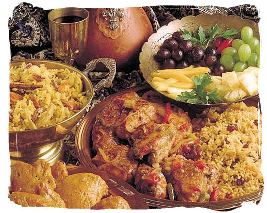 Typical Cape Malay dishes - Cape Malay cuisine