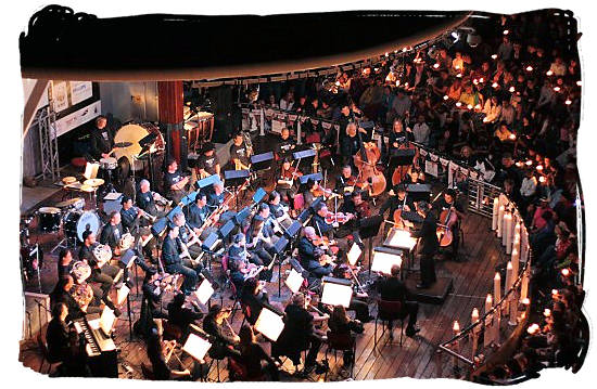 Music is in the Air at the Victoria Waterfront in Cape Town with the Cape Philharmonic Orchestra - South African Music, a Fusion of South Africa Music Cultures