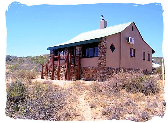 The Chalet accommodation in the Park  - Namaqualand National Park and the Namaqua flowers spectacle