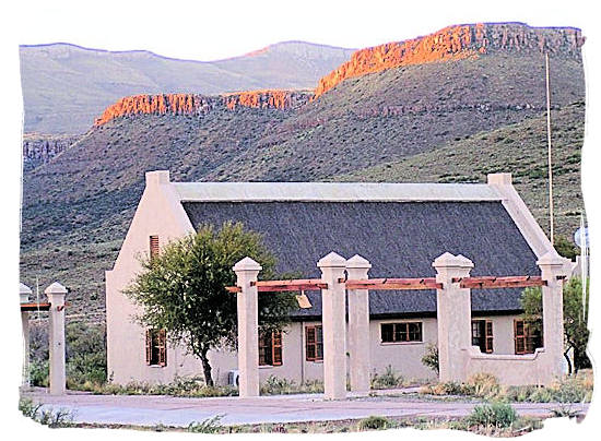 One of the chalets in the main rest camp of the Karoo National Park - Great Karoo Accommodation, Karoo National Park South Africa