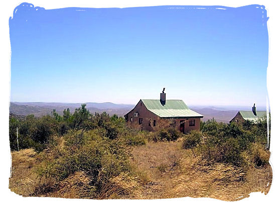 Chalets in the Namaqua national park - Namaqualand National Park and the Namaqua flowers spectacle