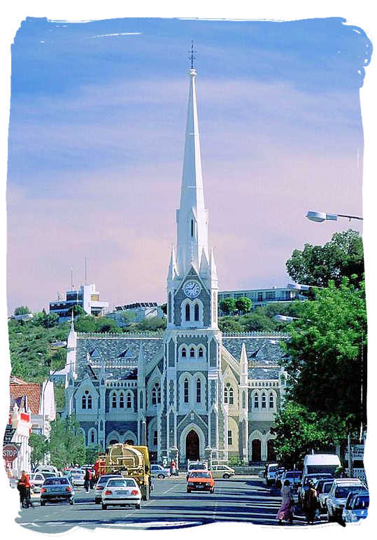 Dutch Reformed Church in Church street Graaff-Reinet - Camdeboo National Park (previously Karoo Nature Reserve