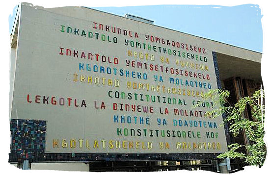 "The words ""constitutional court"" in South Africa's 11 languages - South African constitution"